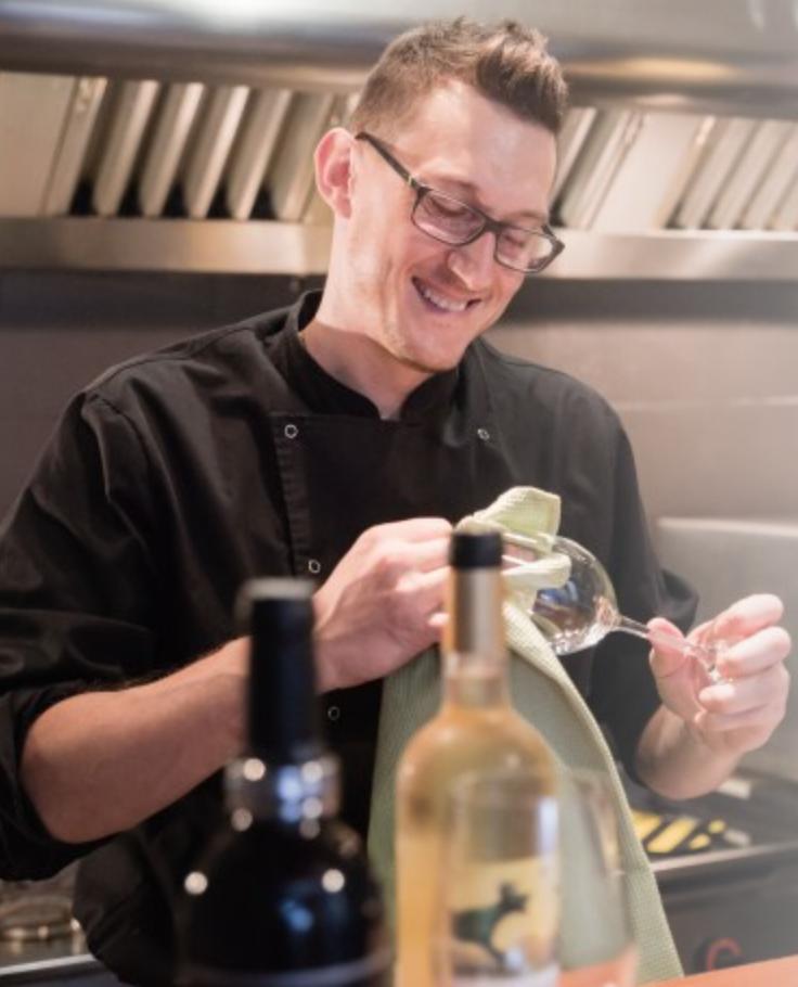 Josh Weiter at On Fire Kitchen
