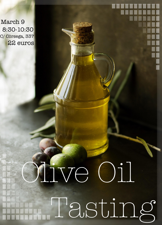 olive oil flyer